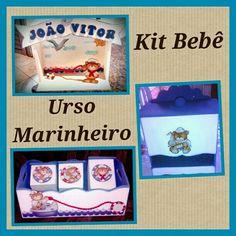 Kit Bebê Urso Marinheiro!!!