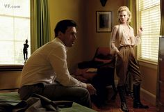 Jon Hamm and January Jones as Don and Betty Draper, by Annie Leibovitz for Vanity Fair