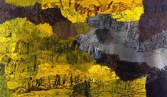 Per Kirkeby (b. 1938), Vermisst die Welt, 1997. oil on canvas, 300 x 500 cm
