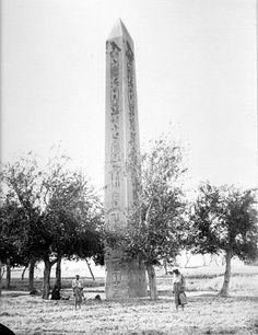 Héliopolis, obelisque de senostris 1er