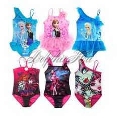 e3733f72b2b53 1PC Girls Kids Swimsuit Swimwear Monster High Tulle Tutu Bathing Suit Beach  3-12  Fashion  1PCSwimsuitSwimwearSwimmingCostume  SwimPoolPartyBeachHoliday