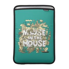 #customize - #Mickey Mouse | Mouse In The House MacBook Sleeve