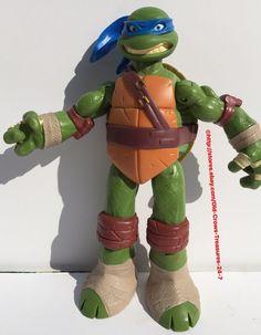 """Teenage Mutant Ninja Turtle 10"""" Battle Shell """"Leonardo"""" Action Figure   eBay"""