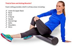 Are you tired of sore muscles? Get rid of the pain with this Premium Foam Roller & Bonus Exercise Guide from Amazon. http://www.amazon.com/dp/B00TBNWFOQ
