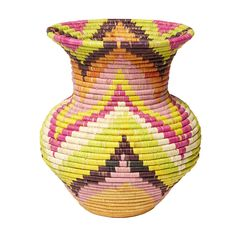 Love this #patterned #vase? Click on it for more information on #TKMaxx's Rwenzori Trading Company charity range.