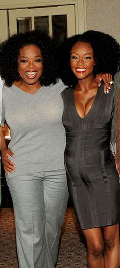 Oprah x Yaya. To learn how to grow your hair longer click here - http://blackhair.cc/1jSY2ux