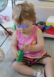 assistante maternelle activités manuelles formation enfant bébé Triangles, Face, Child, Faces, Facial