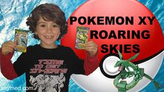 #VIDEO: #Pokemon XY Roaring Skies Booster Pack Openings!  WATCH: https://youtu.be/i4Qk-oEGNEQ
