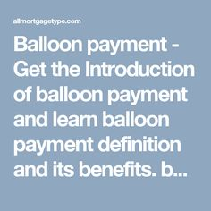 online balloon mortgages calculator for balloon payments balloon