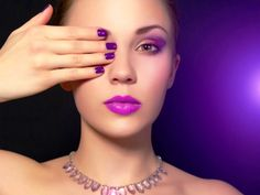 Radiant Orchid Nail Art Collection