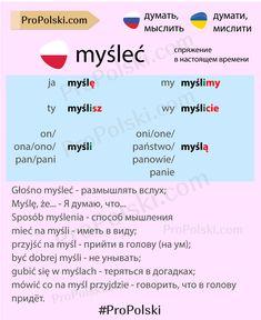 Learn Polish, Polish Language, Poland Travel, Polish, Studying