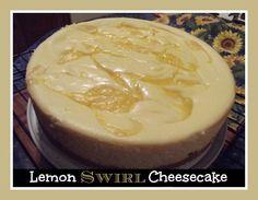 Country Pickins: Lemon Swirl Cheesecake