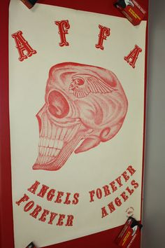 Affa Hells Angels Poster Sonny Barger Lot of 5 Posters. I cannot imagine how expensive this one is gonna get. So much rareness.