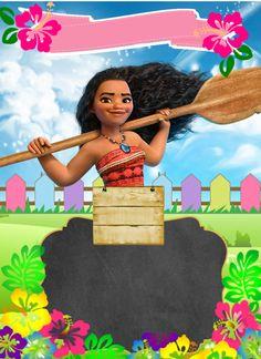 convite moana para editar e imprimir Moana Theme Birthday, Moana Themed Party, Hawaiian Birthday, Moana Party, Hibiscus Clip Art, Moana Decorations, Birthday Party Decorations, Birthday Invitations, Disney