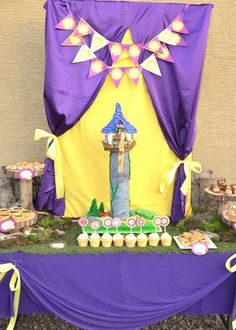 rapunzel, tangled Birthday Party Ideas | Photo 12 of 66 | Catch My Party