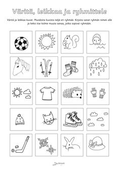 Early Childhood Education, Kindergarten Worksheets, Playing Cards, Language, Mindfulness, School, Early Education, Playing Card Games, Languages