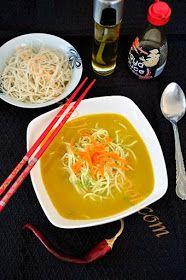 Kalandok a konyhában : Kínai csirkeleves Junk Food, Chow Mein, Thai Red Curry, Recipies, Ramen, Soup, Baking, Ethnic Recipes, Mad