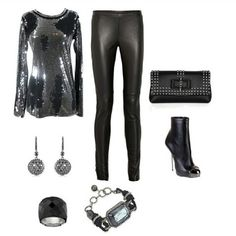 Hollywood scene outfit