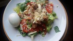 Kyra@Home: Caesar salade met krokante kip