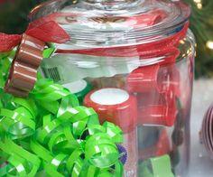 Christmas Cookie Jar Gift Idea