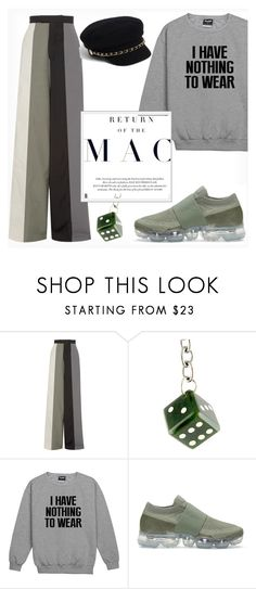 """""""Return of the Mac"""" by fancy-chic ❤ liked on Polyvore featuring Rick Owens, NIKE and Elle Macpherson Intimates"""