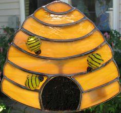 Bee Hive Gardenstake