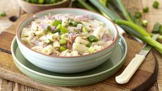 Quick Cheesy Pasta with Smoked Ham and Mushrooms Hungry Children, Smoked Ham, Pork Recipes, Potato Salad, Stuffed Mushrooms, Easy Meals, Pasta, Dinner, Cooking