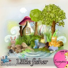 Little fisher (PU/S4H) by Sarayane At ScrapBird