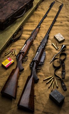 Westley Richards Vintage Take-Down Rifles