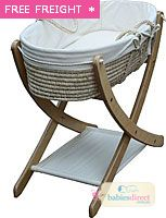 POD SEED ORGANIC BASKET & STAND from Babies Direct