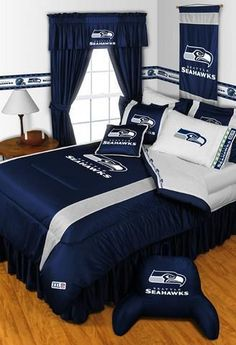 seattle seahawks bed in a bag set
