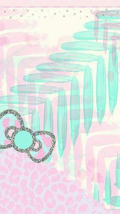 Glitter Wallpaper, Love Wallpaper, Colorful Wallpaper, Wallpaper Backgrounds, Hello Kitty Backgrounds, Hello Kitty Wallpaper, Cellphone Wallpaper, Iphone Wallpaper, Animal Print Wallpaper