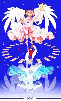 Tags: Anime, Cardcaptor Sakura, Fanart, Kinomoto Sakura, Hope Card