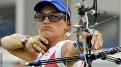 Alison Williamson (Great Britain) Archery, competes in 6th Olympics in a row