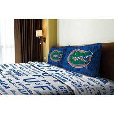 Ncaa Florida Gators Sheet Set, Multicolor