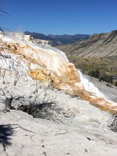 Hot spring@Yellowstone