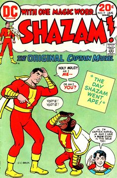 Shazam #9 - Cover Art by C. C. Beck