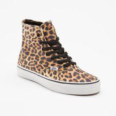 VANS Leopard Authentic Hi