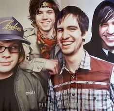 Ryan Ross / Pete Wentz / PatricK Stump / Brendon Urie / Panic! At The Disco / Fall Out Boy