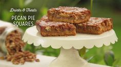 Check out what I found on the Paula Deen Network! Pecan Pie Squares http://www.pauladeen.com/pecan-pie-squares