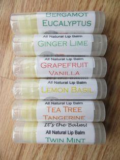 Lip Balm All natural lip essential oil flavored Its The Balm
