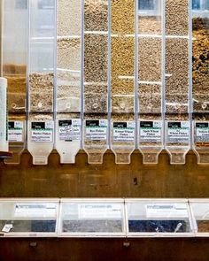 Did you know grocery stores buy more food than they know will be bought to give the store the appearance of abundance? The appearance of abundance leads to more impulse buys. Wrap your brain around that. They buy food they know will be thrown away because it's more profitable than buying less. Zero waste grocery shopping just makes sense to me. No labels and packaging screaming at you. Just rice. Just barely. Just chocolate. Easy and simple. I love watching how the zero waste movement is