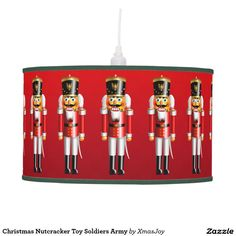 Christmas Nutcracker Toy Soldiers Army Hanging Lamp