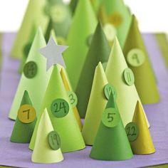 Cone-Iferous Advent Calendar
