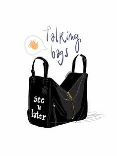 Loewe bag by Open Toe illustration