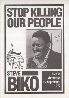 On 12 September 1977 the Black Consciousness leader Steve Biko died while in the custody of security police. The period leading up to his death, beginning with the June 1976...