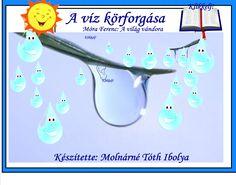 Fotó itt: A víz körforgása, Móra Ferenc: A világ vándora interaktív tananyag - Google Fotók Green Day, Google, Science, Organization, Photo And Video, School, Books, Water, Getting Organized