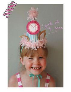 DIY Paper Crafts : DIY Paper Party Hats