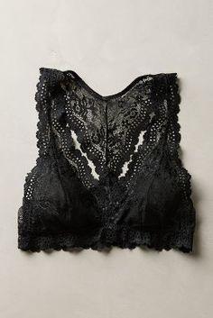 Eberjey Colette Racerback Bralette Black Intimates