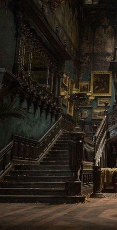 Slytherin Aesthetic, Harry Potter Aesthetic, Paradis Sombre, Dark Green Aesthetic, Concrete Stairs, Draco Malfoy, Aesthetic Pictures, Aesthetic Wallpapers, Light In The Dark